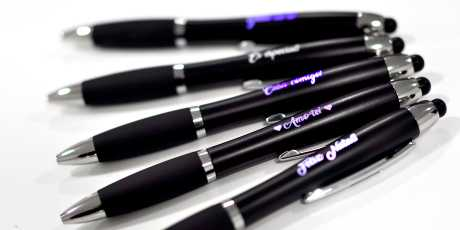 LED Pens engraved with your logo or name